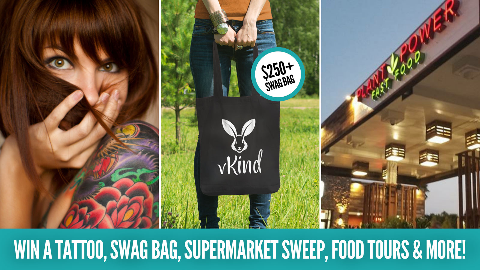Vibes video contest win a tattoo swag bag supermarket sweep food tours are more
